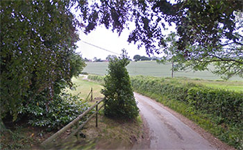 lane near Sarpenela Natural Therapies Centre