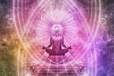 soul alignment meditation illustration