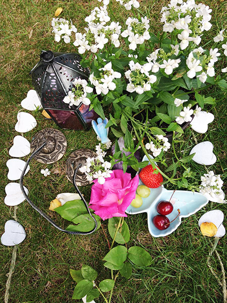 offerings for Beltane Labyrinth workshop